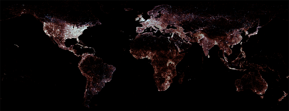 Global Second Order Administrative Divisions Now Available From GAUL