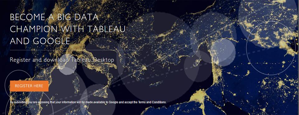 The Big Data Viz Challenge Sponsored By Google And Tableau