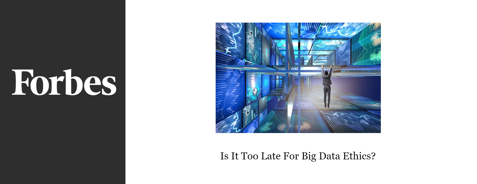 is it too late for big data ethics?